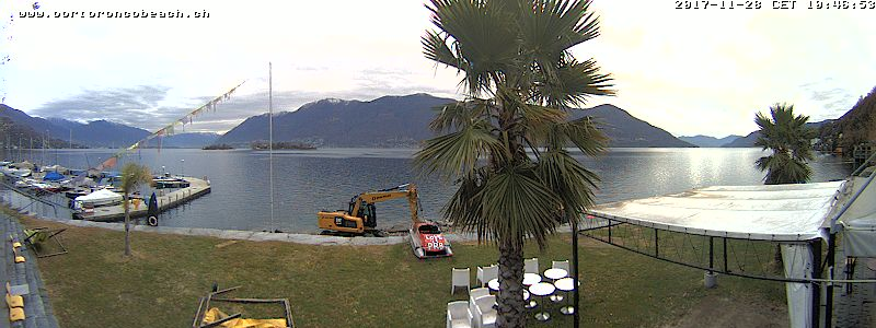 Webcam Porto Ronco Beach